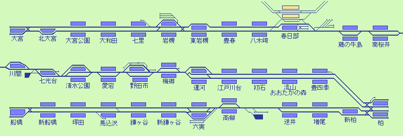 出口・地図|岩槻|駅の情報|ジョルダン